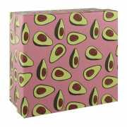 "Подарочная коробка ""Авокадо"", 17 х 17 х 8 см..."
