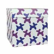 """Подарочная коробка """"Шарики собачки"""", 23 х 23 х 23 ..."""