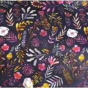 """Упаковочная бумага """"Dark Flowers"""""""