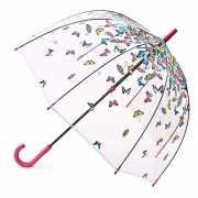 """Зонт-трость женский """"Raining Butterflies""""..."""