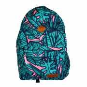 Рюкзак, принт листья