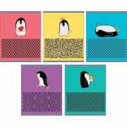 """Тетрадь """"Приключения пингвина"""" А5, 48 листов, в кл..."""