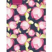"""Книга для записей в клетку """"Орнамент. Розовые пионы&quo..."""