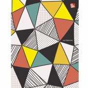 """Записная книжка """"Пестрые треугольники"""" А6, 80 лист..."""