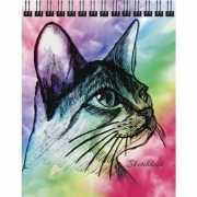 """Скетчбук """"Кот. Графика"""" А6, 80 листов, 100 г/м2..."""
