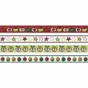 Набор декоративных клеевых лент, 4 вида, 15 мм х 5 м...