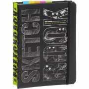 Скетчбук. Книга для записей и зарисовок, черный...
