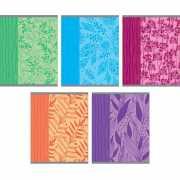 """Тетрадь """"Цветочные силуэты"""", А5, 48 листов, клетка..."""