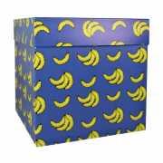 """Коробкаподарочная""""Бананы"""",22,5 х 22,5 х 22,5 с..."""