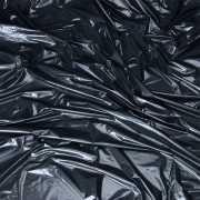 Черная виниловая ткань-простынь для эротических игр...