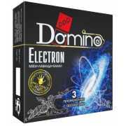 Ароматизированные презервативы Domino Electron - 3 шт....