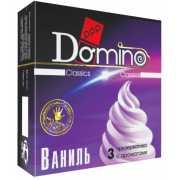 Ароматизированные презервативы Domino  Ваниль  - 3 шт....