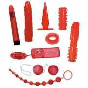 Набор красных вибростимуляторов