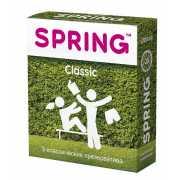 Классические презервативы SPRING CLASSIC - 3 шт....