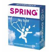 Ультратонкие презервативы SPRING SKY LIGHT - 3 шт....