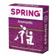 Ароматизированные презервативы SPRING AROMANTIC - 3 шт....