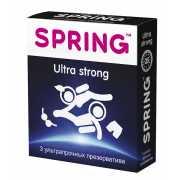 Ультрапрочные презервативы SPRING ULTRA STRONG - 3 шт....