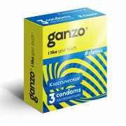 Классические презервативы с обильной смазкой Ganzo Classic -...