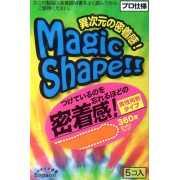 Презервативы Sagami Xtreme Magic Shape с ребристым швом - 5 ...